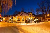 Puchberg im Winter bei Nacht